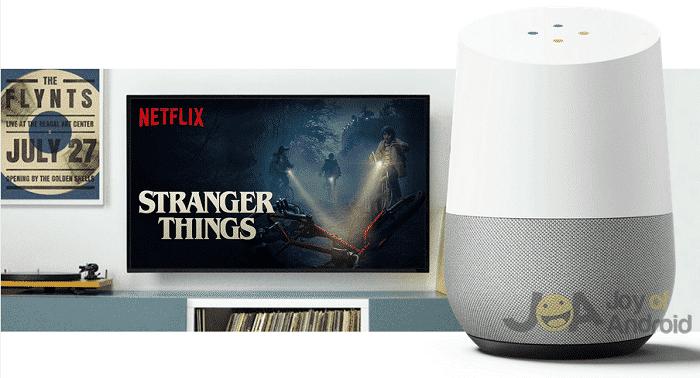 stranger google home