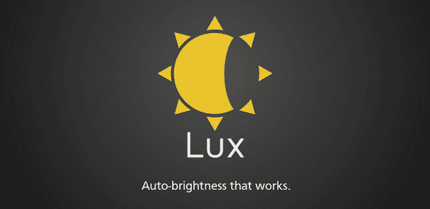 Lux Android App - Brightness Control