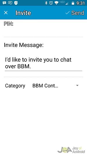 PIN Invite