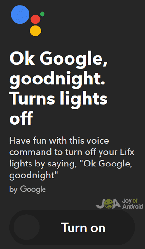 lights google home workarounds
