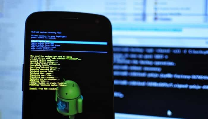 Recovering Crashed Android after a Failed Update