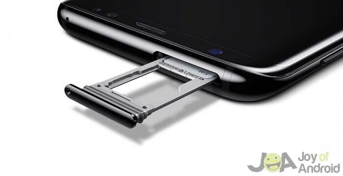 10. microSD card slot - Samsung Galaxy S8 vs. Galaxy S8 Plus