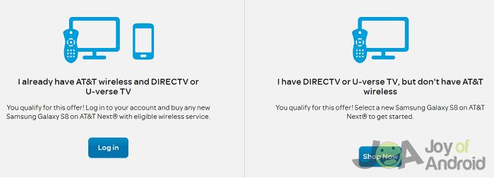 att s8 offers