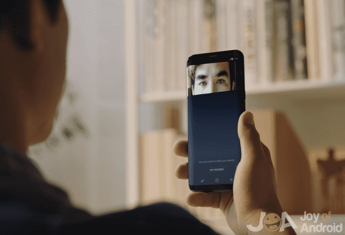 iris scanner s8 best android