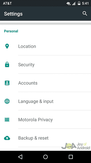 location settings google opinion rewards
