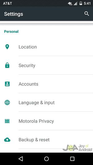 location settings google opinion rewards
