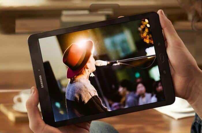 Galaxy Tab S3 video