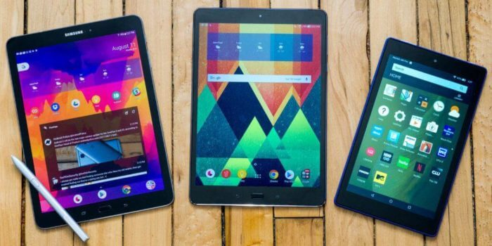 a few android tablets