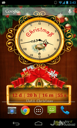 countdown christmas wallpaper