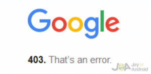Error OK Google Song