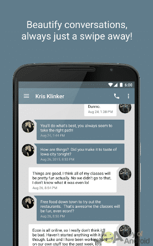 Evolve Text Apps