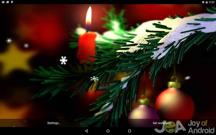 20 Free Christmas Live Wallpapers With Hd 3d Or Music