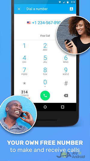 A Feature I Have To Mention That Wasn T Present With Text Free Or Textplus Is Video Calling Instead Of Wrangling Skype Google Hangouts