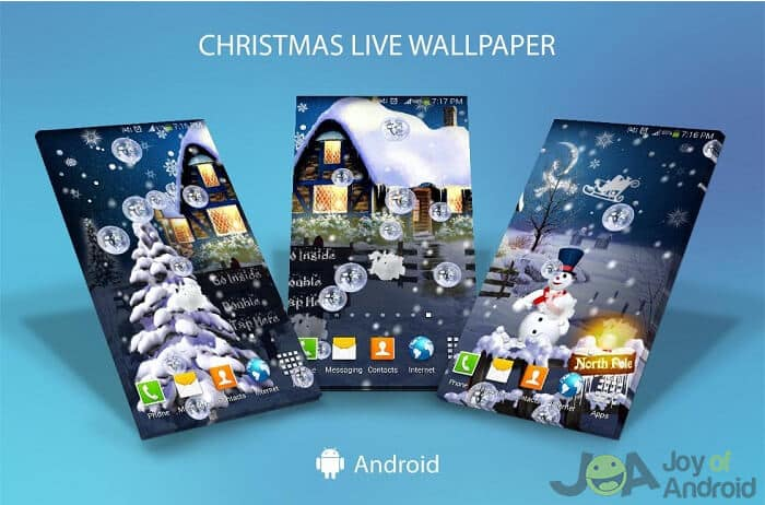 multiple christmas wallpapers