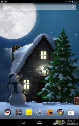 night christmas wallpapers