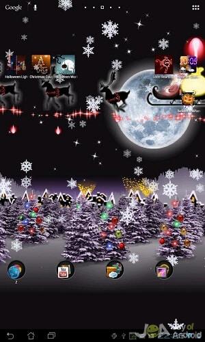 sleigh christmas wallpapers