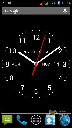 Analog Clock Widget by Style-7