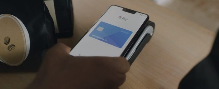 Paying with Google Pay Android Phone