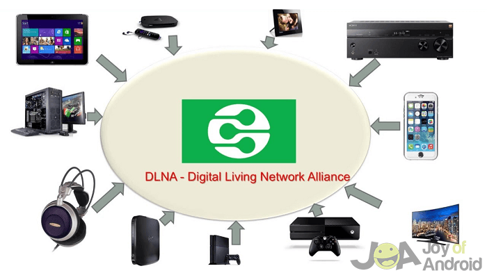 Devices for DLNA Network