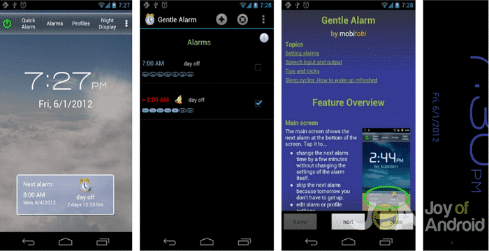 Gentle Alarm - The 10 Best Apps for the Samsung Galaxy S8 Plus