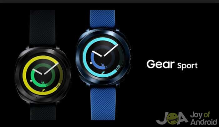 Samsung Gear Sport - The Best Android Watch That's Waterproof: Our 2 Favorites from Joy of Android