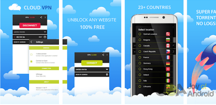 VPN Cloud - The 10 Best Apps for the Samsung Galaxy S8 Plus