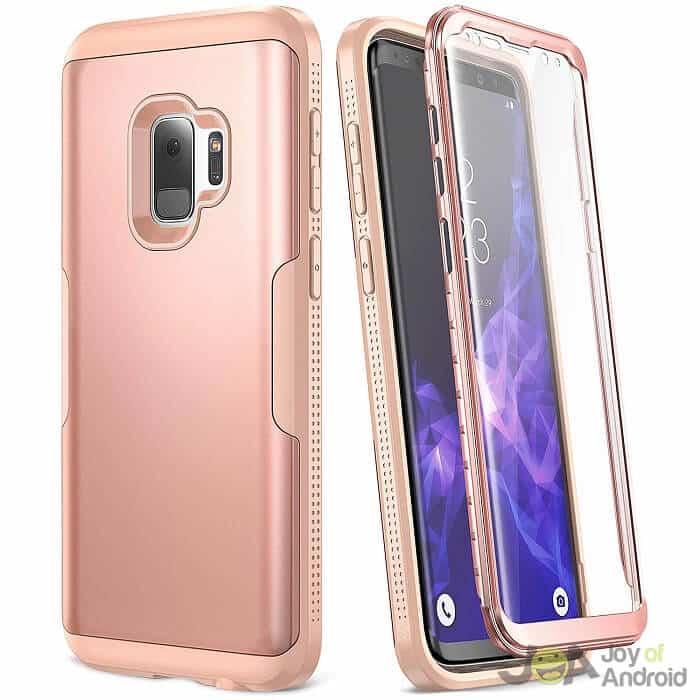 Samsung Galaxy S9 Case Rose Gold