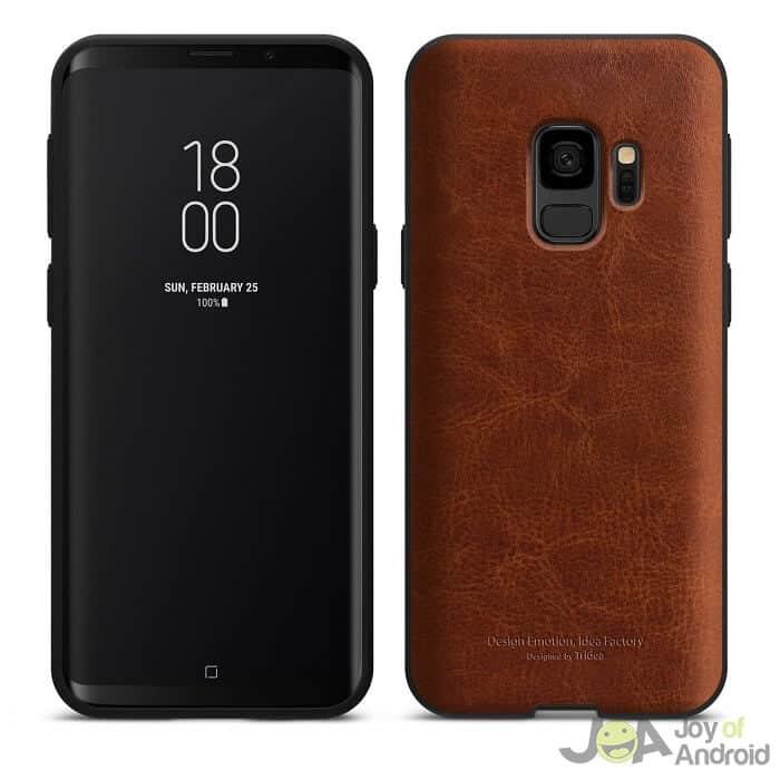 Samsung Galaxy S9 Case Leather