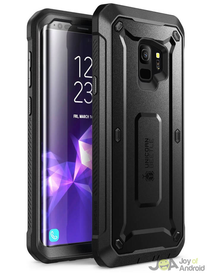 Samsung Galaxy S9 Case with Built-in Screen Protector