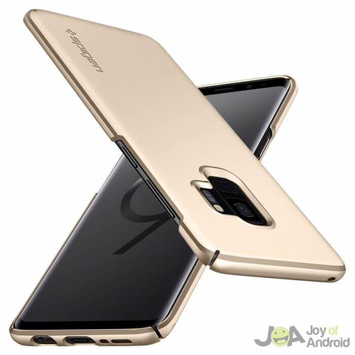 Samsung Galaxy S9 Case Gold