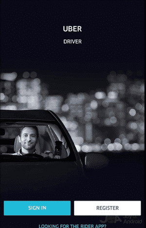 Driver Uber App