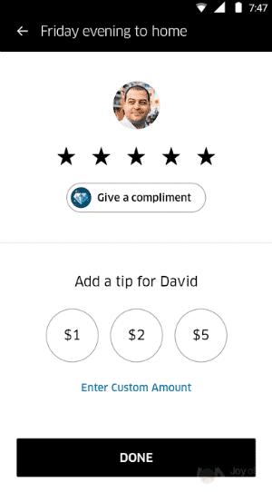Uber Tip