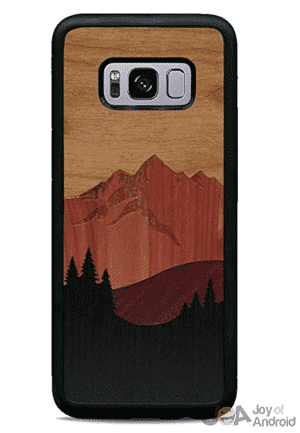galaxy s8 wood case