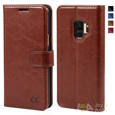 Galaxy S9 Case Leather