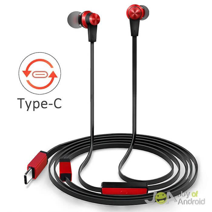 TriLink USB C Earphones