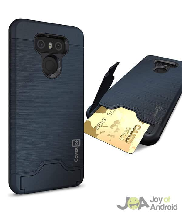 CoverON LG G6 Case with Card Holder