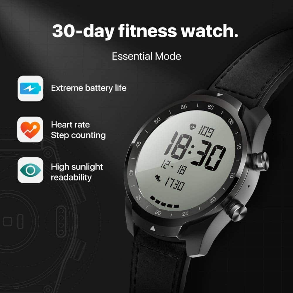 Ticwatch Pro Features