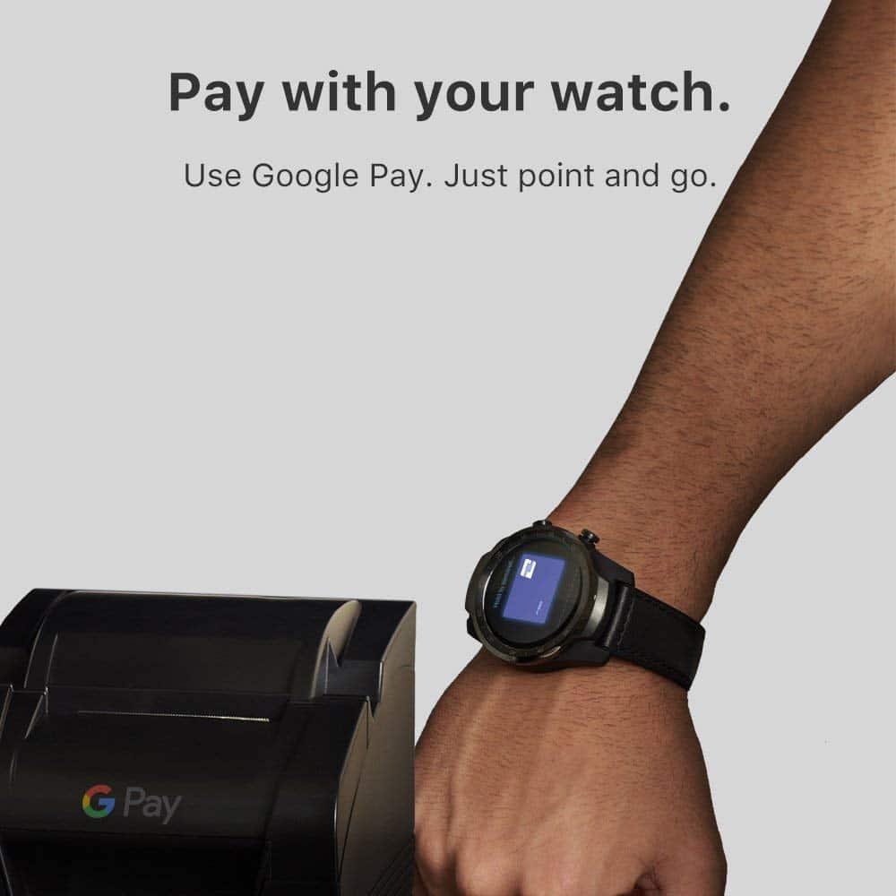 Ticwatch Pro Google Pay