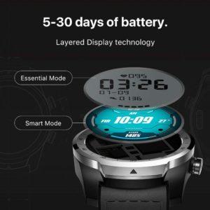 Ticwatch Pro Layered Display