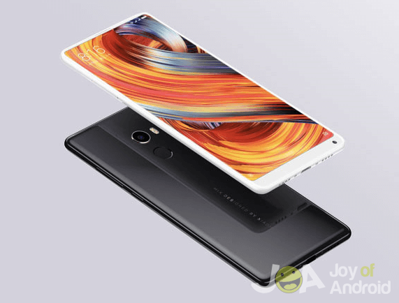 front and back of Xiaomi Mi Mix 2