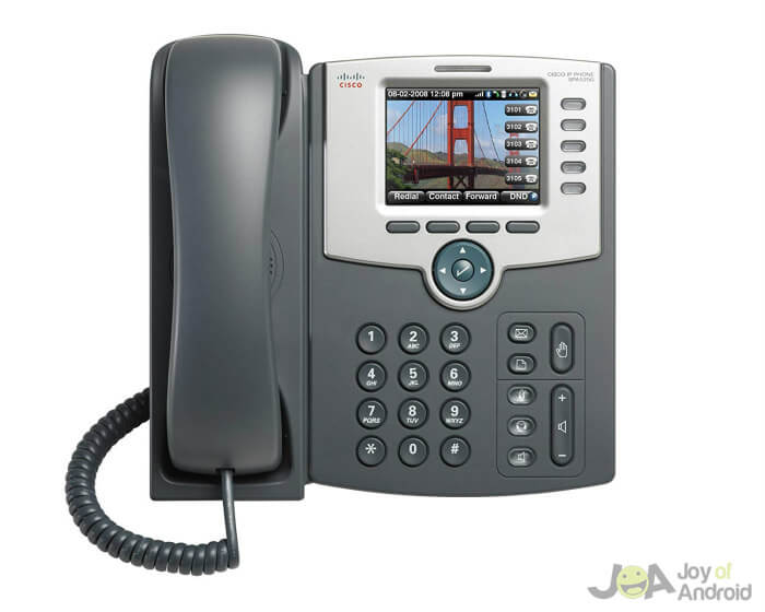 Android SIP Desk Phone from Cisco