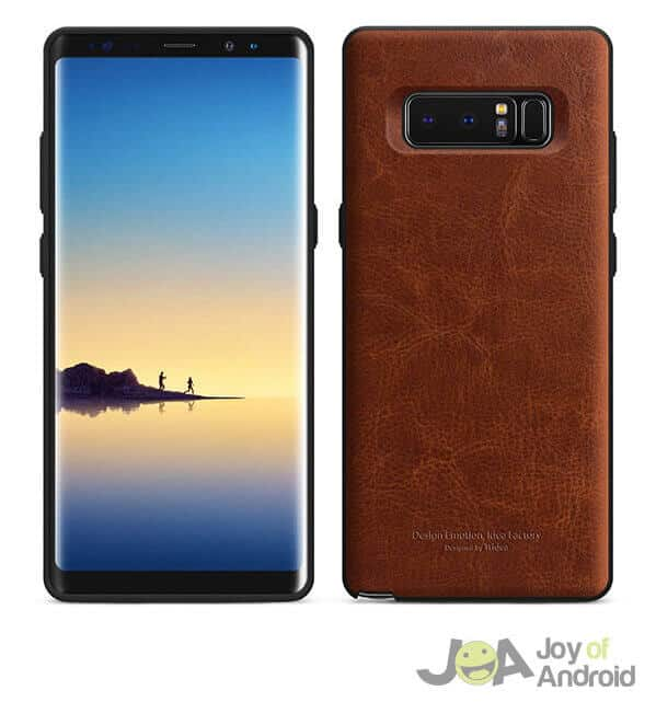 Tridea Leather Galaxy Note 8 Case