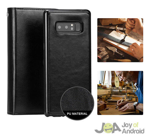 Pasonomi Galaxy Note 8 Wallet Case