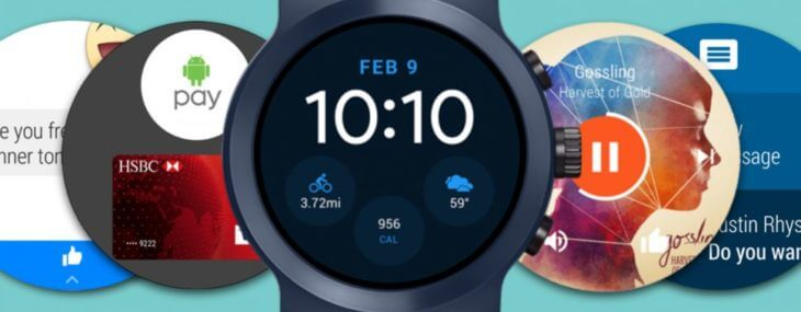 Android Wear Smartwatch Faces
