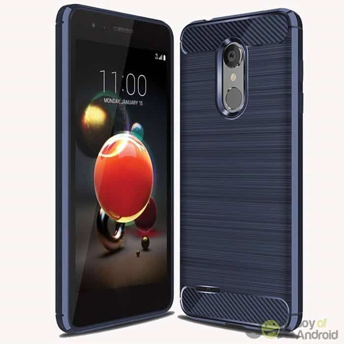 lg aristo 2 phone case blue cnu