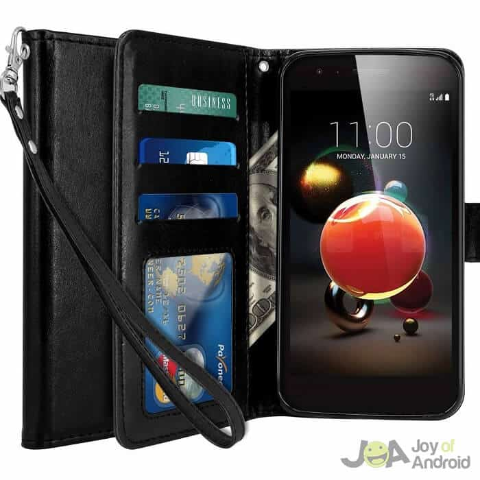 lg aristo 2 phone case wallet lk