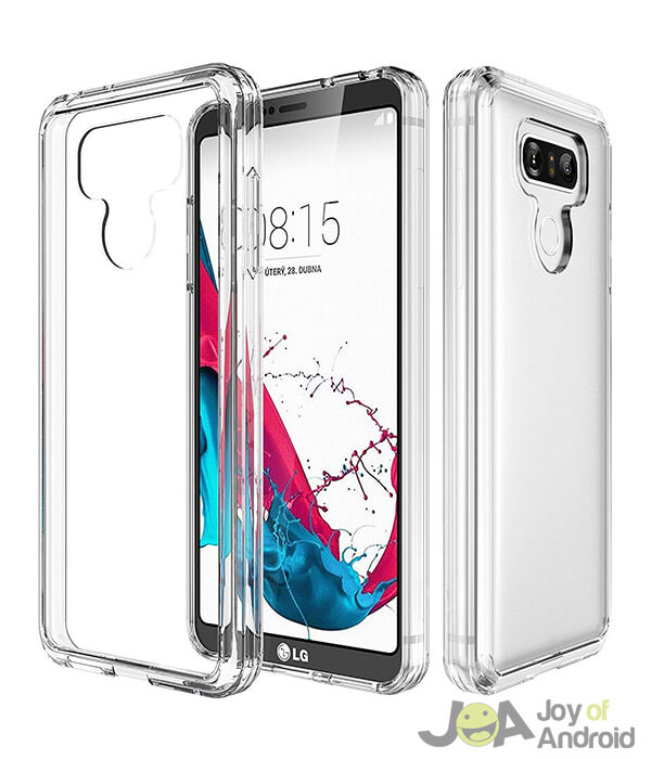 LG G6 Case Clear from Asmart