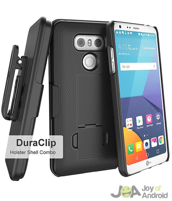 LG G6 DuraClip Case with Belt Clip