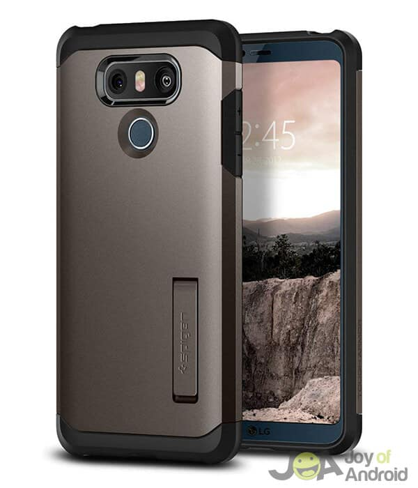 Spigen LG G6 Case with Screen Protector