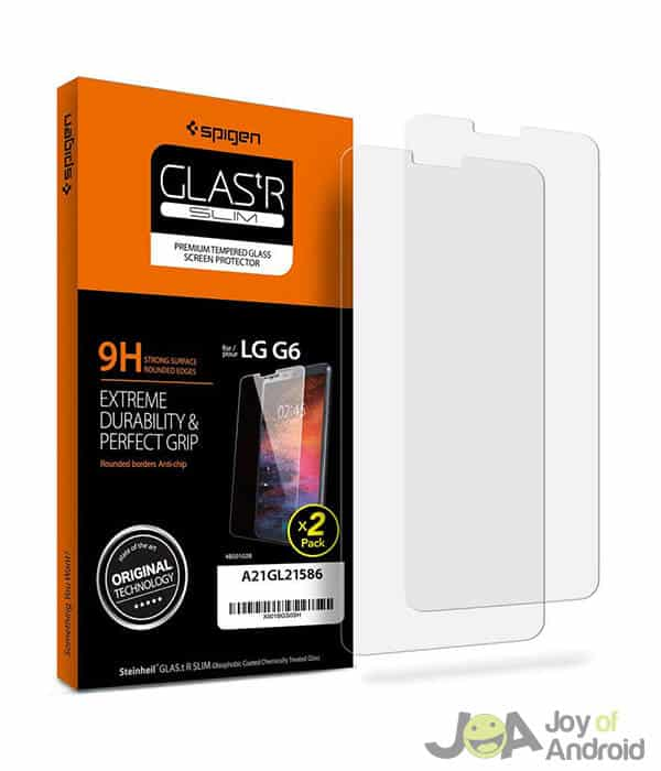 Spigen LG G6 Tempered Glass Screen Protector